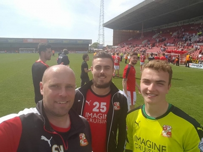 Will Henry - Swindon Town Professional Goalkeeper